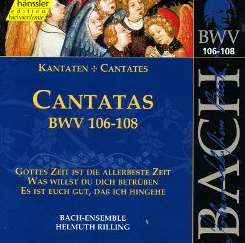 Helmuth Rilling - Bach: Cantatas, BWV 106-108 album download