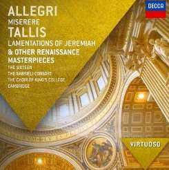 The Sixteen / Gabrieli Consort / King's College Choir of Cambridge - Allegri: Miserere; Tallis: Lamentations of Jeremiah album download