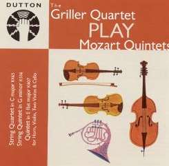 Griller String Quartet - The Griller Quartet Play Mozart Quintets album download