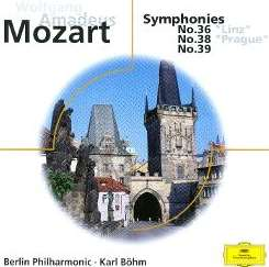 Berlin Philharmonic Orchestra / Karl Böhm - Mozart: Symphonies Nos. 36, 38 & 39 album download