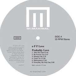 o F F Love - Probably Love album download
