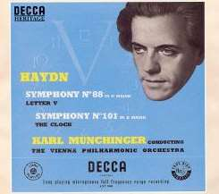 Karl Münchinger - Haydn: Symphonies Nos. 88 & 101 album download