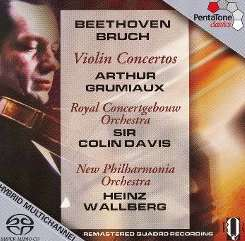 Arthur Grumiaux - Beethoven, Bruch: Violin Concertos album download