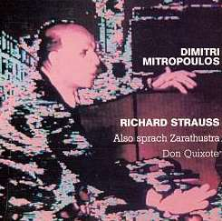 Dimitri Mitropoulos - Richard Strauss: Also sprach Zarathustra; Don Quixote album download
