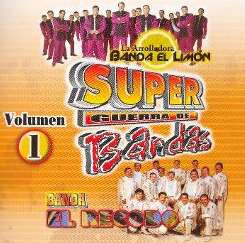 Banda el Recodo - Super Guerra de Bandas, Vol. 1 album download