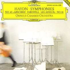 "Orpheus Chamber Orchestra - Haydn: Symphonies Nr. 45 ""Abschied - Farwell - Les Adieux"", No. 81 album download"