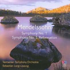 "Sebastian Lang-Lessing - Mendelssohn: Symphony No. 1; Symphony No. 5 ""Reformation"" album download"