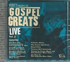 Various Artists - Verity Gospel Greats Live, Vol. 2 album download